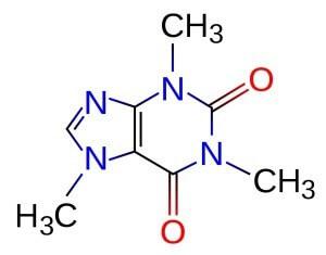 Молекула кофеїну