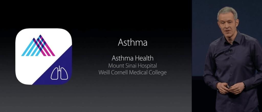 Додаток для контролю астми від Моунт-Сінай