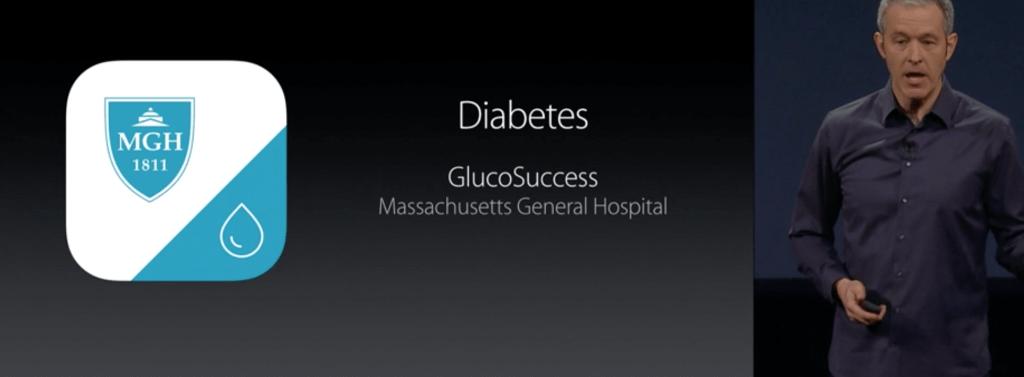 Застосунок для людей з цукровим діабетом
