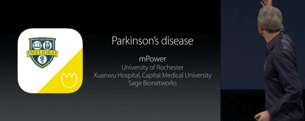 Мобільний застосунок для хвороби Паркінсона